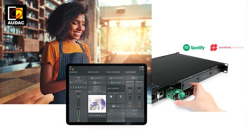 Módulo de audio streaming sourcecon