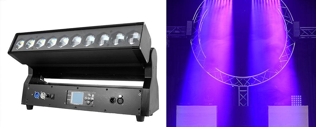 Barra LED dinámica con zoom
