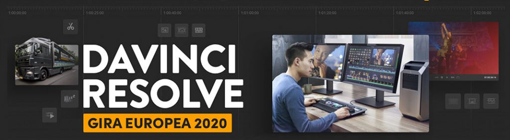 DaVinci Resolve gira europea