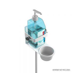 Soporte para desinfectante de Gravity