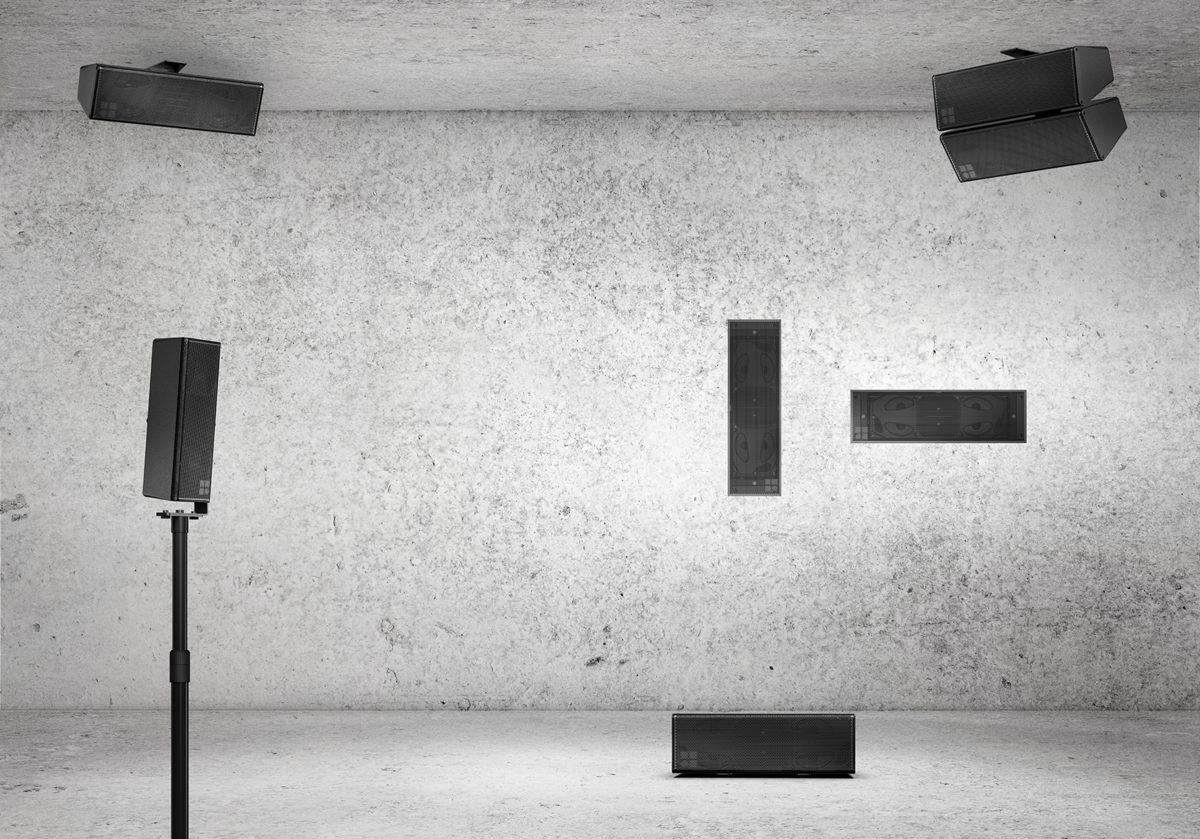 altavoz empotrable 44S de d&b audiotechnik