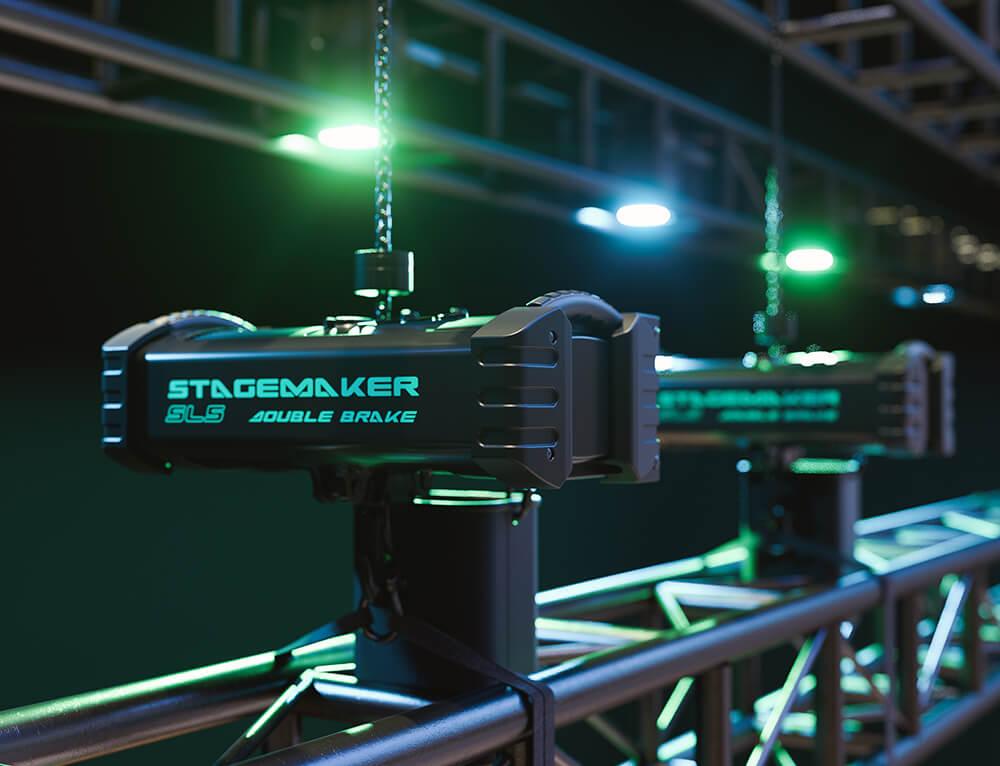 motores Stagemaker SL5 Y SL10 de Verlinde